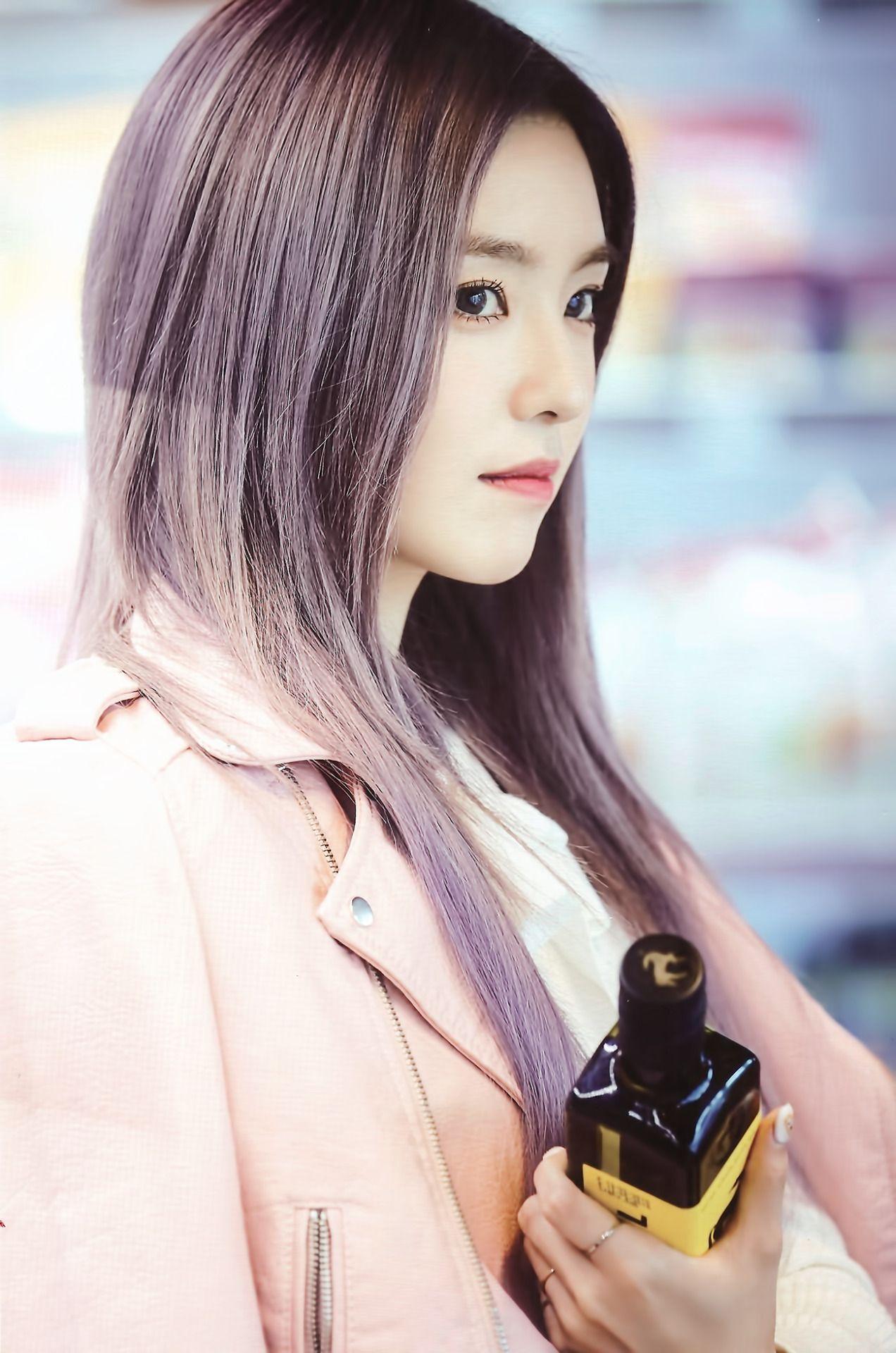 Cr Ppurpple Irene Red Velvet Purple Hair Red Velvet Irene Hair Photo