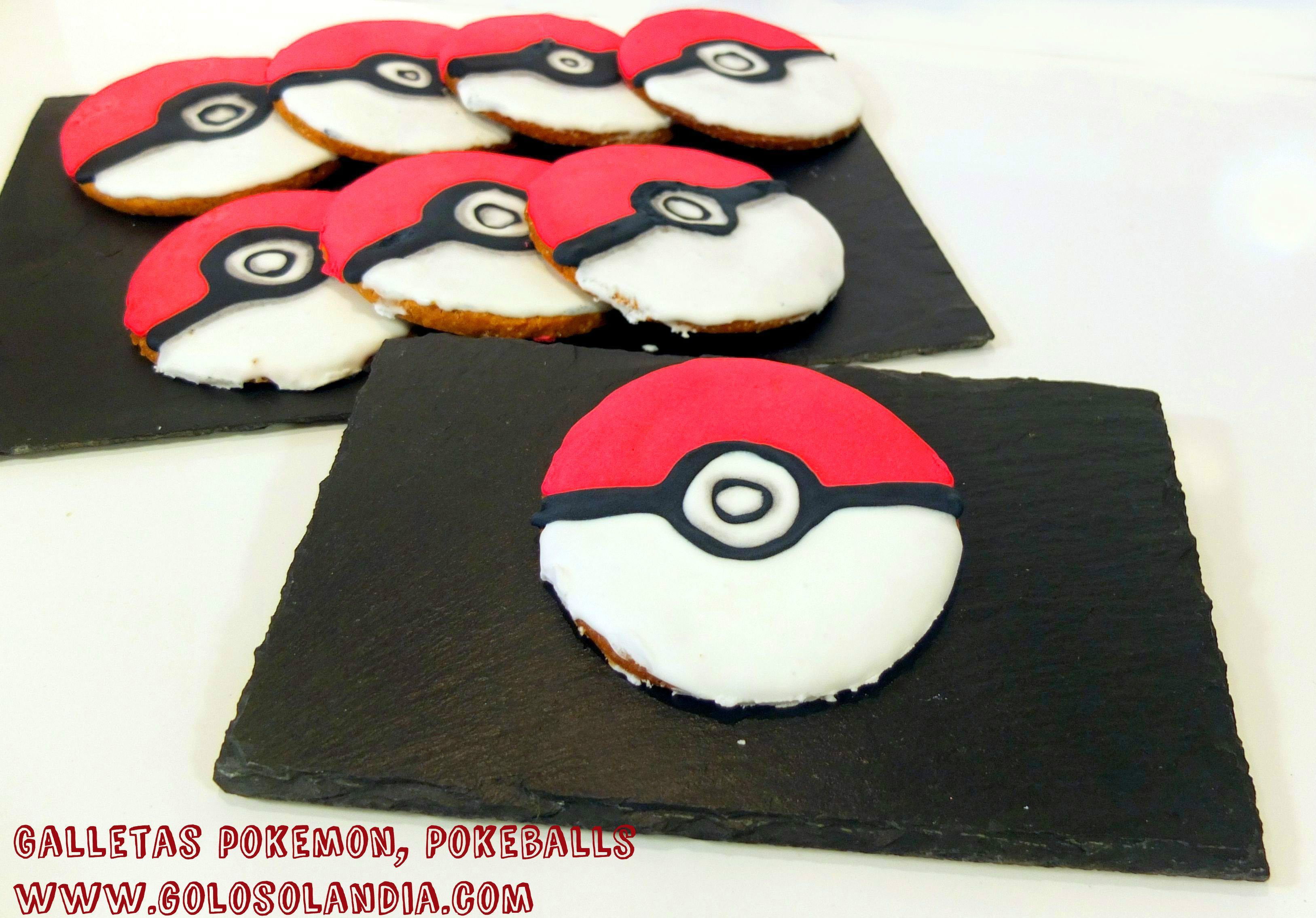 #galletas #pokemon ¿tambien te gustan estan estas pokeballs?  receta y vídeo paso a paso #golosolandia https://youtu.be/aBoezDBjj9c