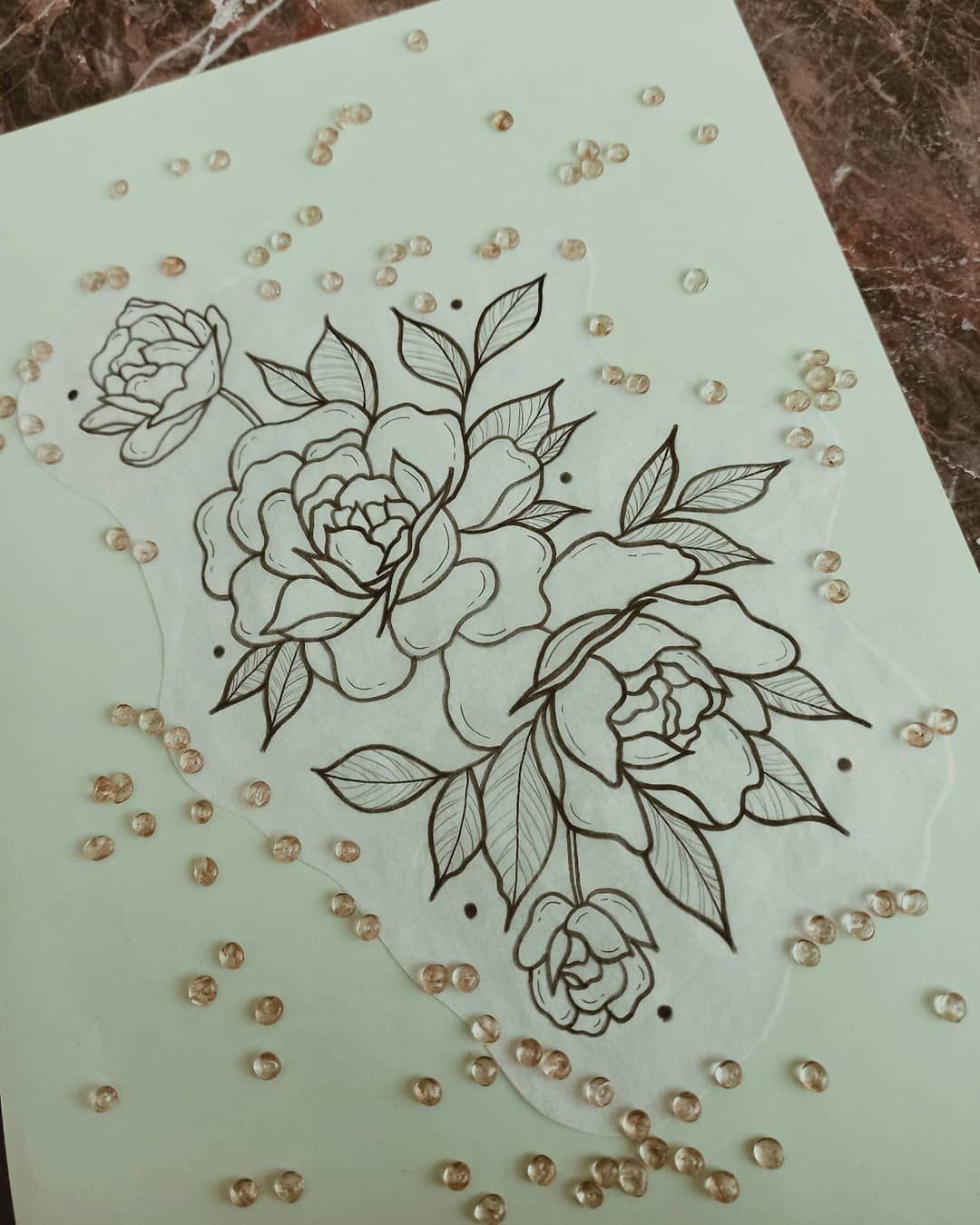 •✾✾✾• ▪ ▪ ▪ ▪ ▪ ▪ ▪ ▪ ▪ ▪ #floral #flowers #floraldesign #floraltattoo #floralart #flower #flowertattoo #flowerdrawing #rosetattoo #rosetattoodesign #roses #flashtattoo #flashwork #flashworkers #flashart #flashbook #flashaddicted #flash #artdesign #artoftheday #artistsoninstagram #art #tattooidea #tattooapprentice #tattooflash #tattoodesign #tattooideas #sketchoftheday #sketch_dailydose #megartica