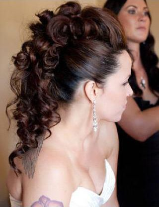 gorgeous faux hawk updo  ~ we ❤ this! moncheriprom.com  #promhairstyles