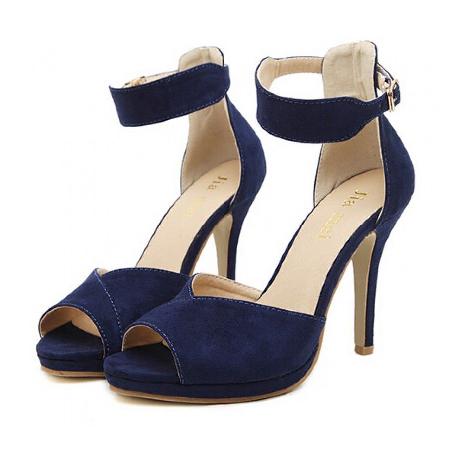 Fashion trend of Navy Blue Sandals With Heels Shoes Mod | Shoes ...