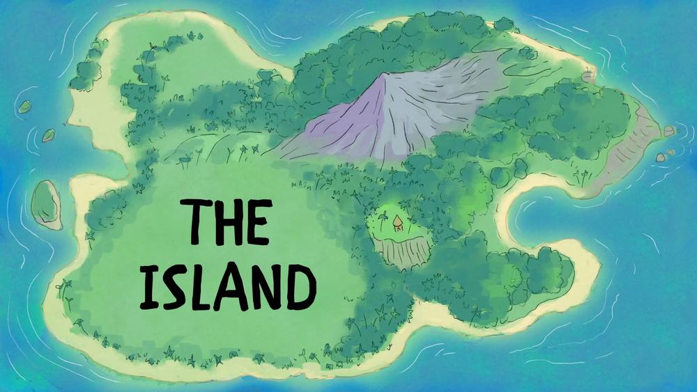 The Island (S2, E10) title card