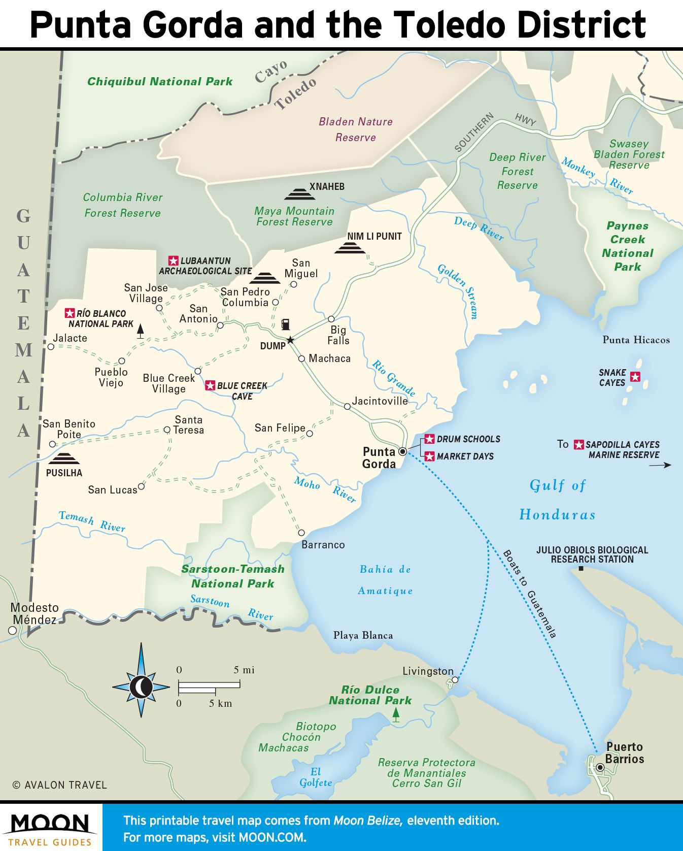 Printable travel maps of belize belize punta gorda and travel maps these free printable travel maps of belize are divided into six regions including belize city northern cayes belmopan and cayo and punta gorda gumiabroncs Image collections