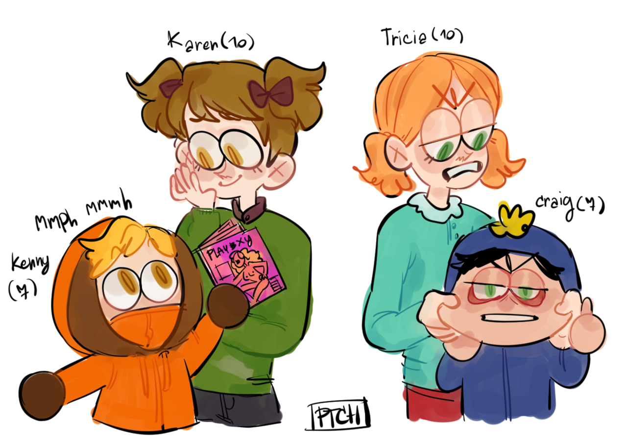 I am proudly presented, tada age swap siblings   South Park