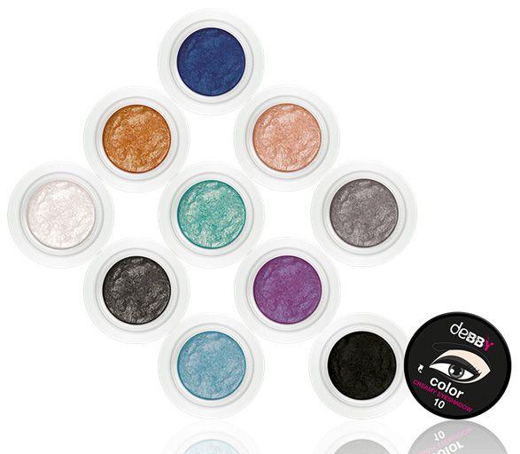 Creamy Eyeshadow by deBBY http://bit.ly/1CV38xo #novità #makeup #newcollection #preview debby-Creamy-Eyeshadow
