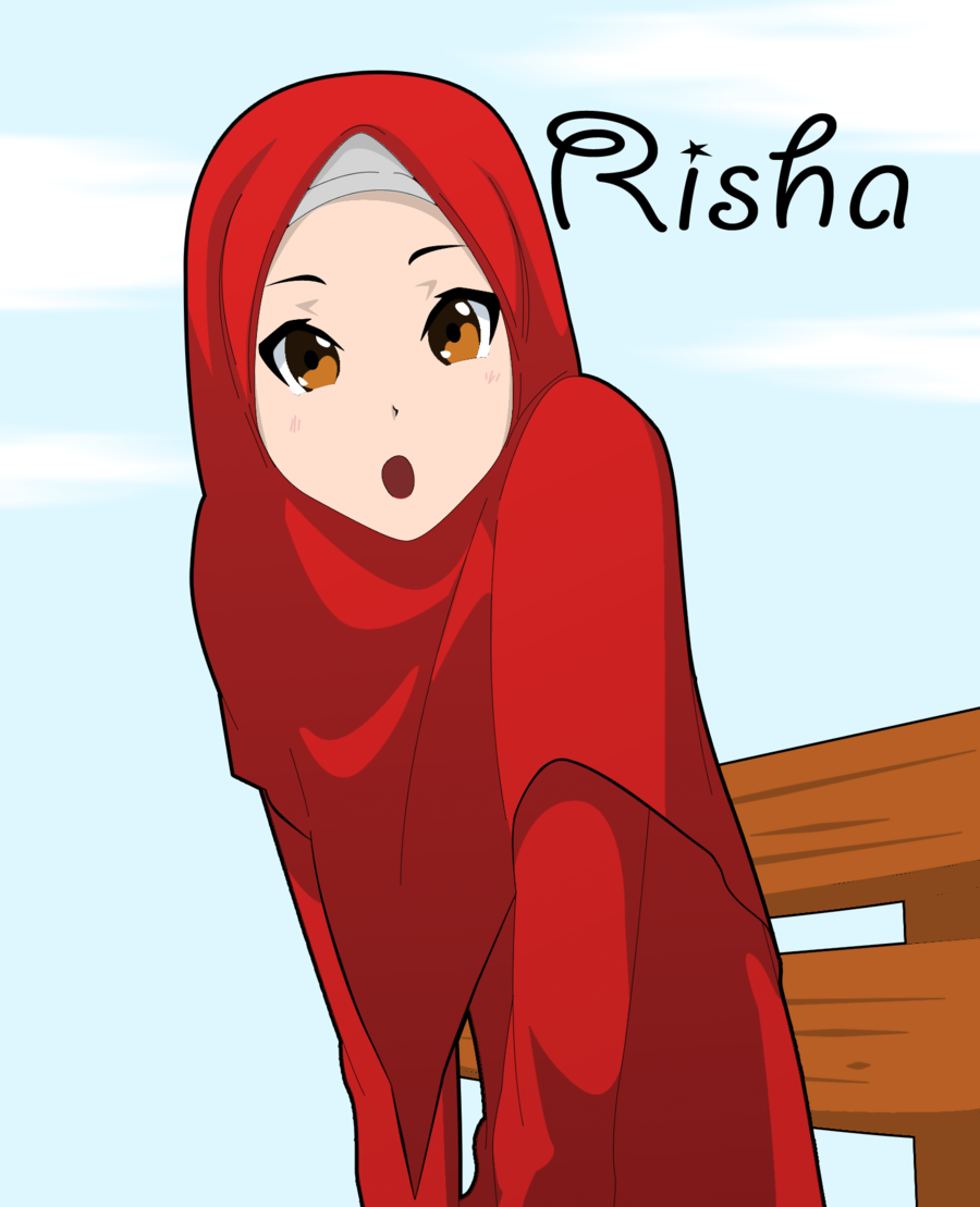 Arab Anime Jilbab Pinterest Art And Dresses And Dresses