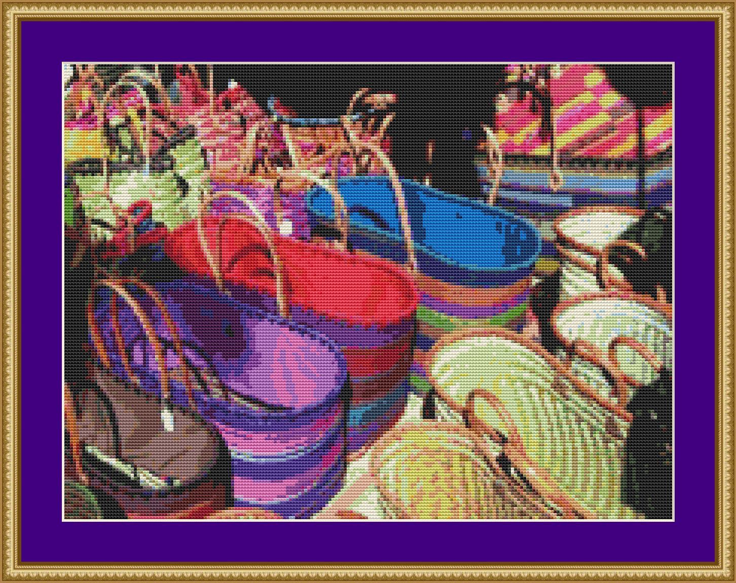 Bags Cross Stitch Pattern