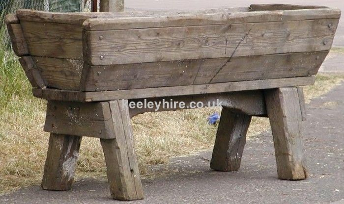 Large Tall Wood Water Trough 4 For Storage Water Trough Horse