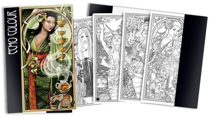 The Folio Coloring Book Of Loose Leaf Art Prints Tarot Decks Art Coloring Books Art