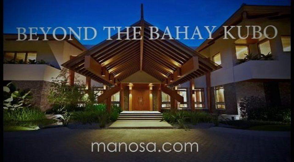 Manosa Architects: Beyond the Bahay Kubo   Philippines ...