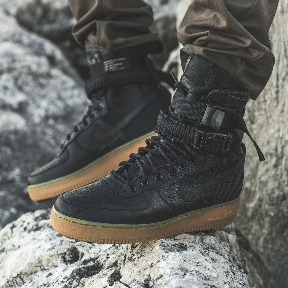 47367a278d Nike Special Field Air Force 1 - Black/Gum - 2016 | My Type of Kicks ...