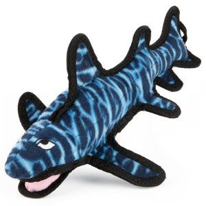 Toyshoppe Tuffy Ocean Creature Shark Dog Toy Petsmart One