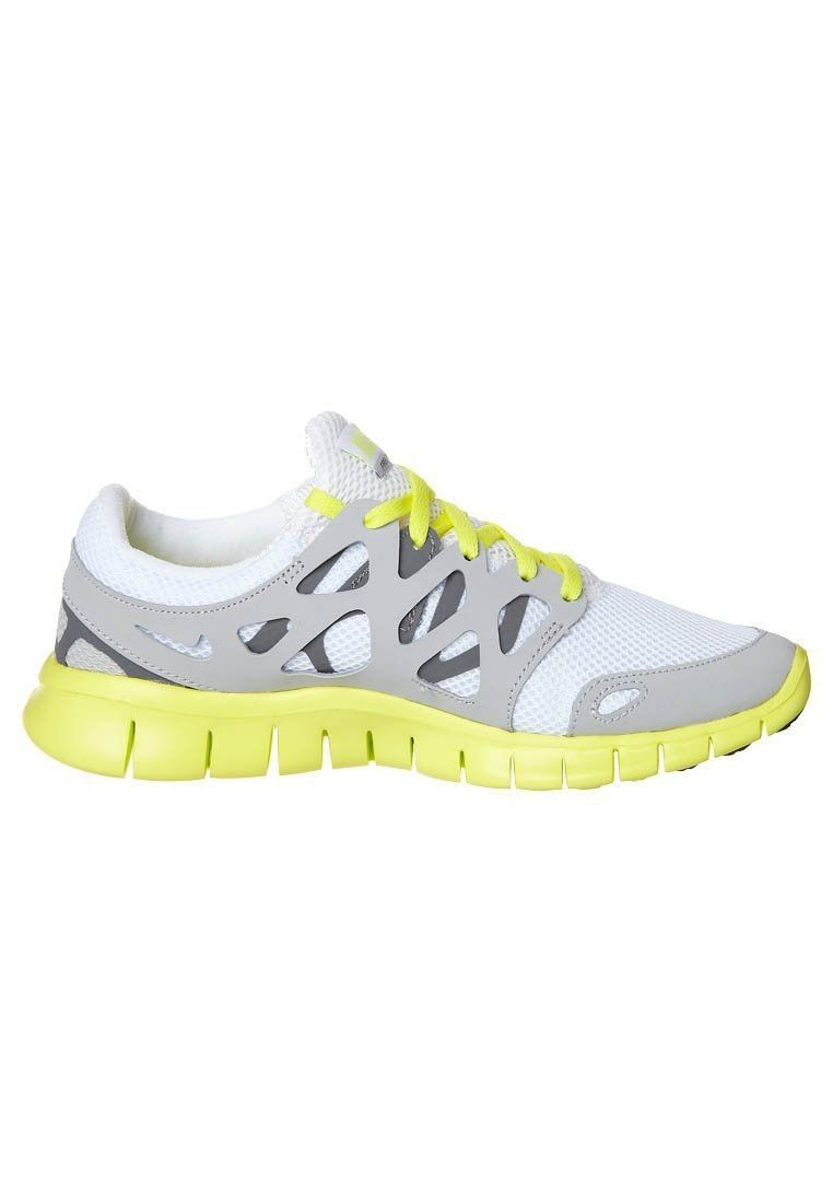 hot sales 3e83d dd018 Nike Free Run 2 - for women Running shoes - grey white yellow HOT SALE! HOT  PRICE!