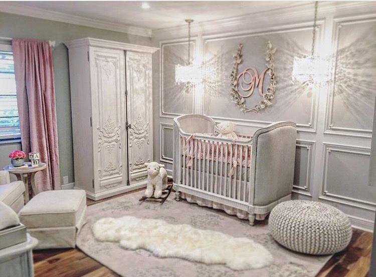 Baby Nursery. All furniture from Restorationhardware