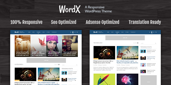 WordX #WordPress #Google AdSense Theme - www.wpchats.com | WordPress ...