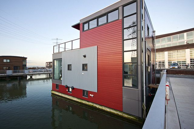 Red House, floating still