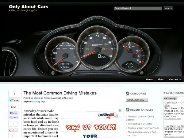 http://www.onlyaboutcars.com/the-most-common-driving-mistakes/