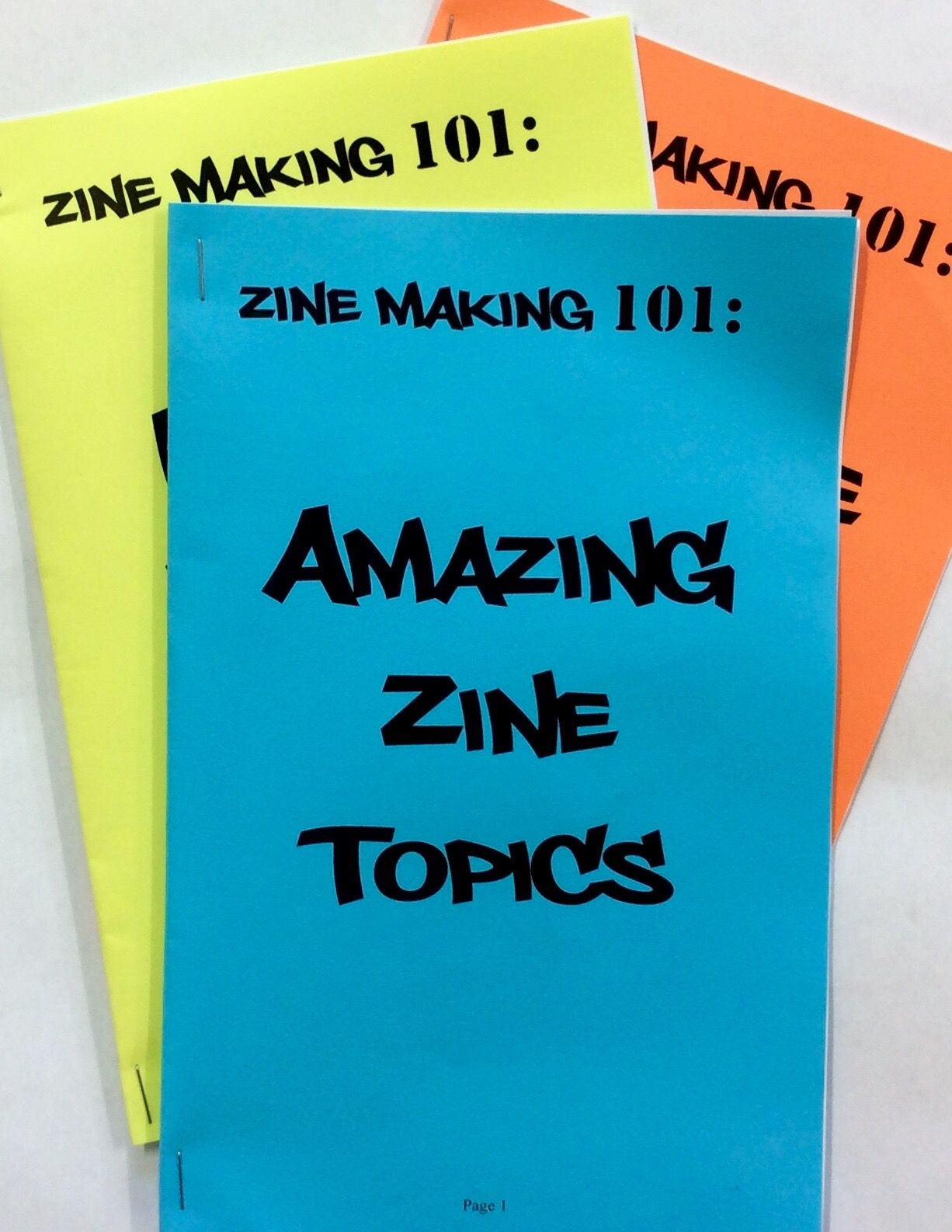 Student constructed zines tap into the creative energy of do it student constructed zines tap into the creative energy of do it yourself publishing solutioingenieria Choice Image