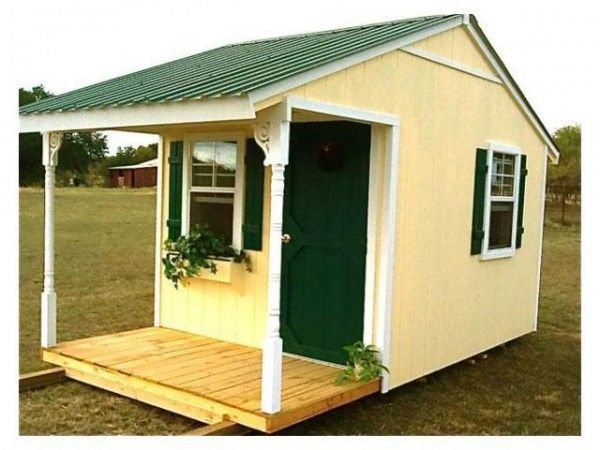 Little Shed House With Images