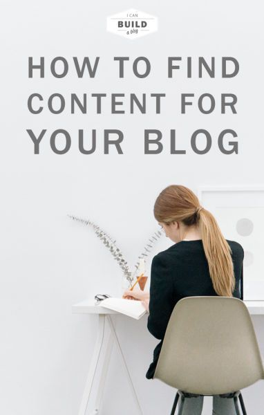 How To Find Content For Your Blog