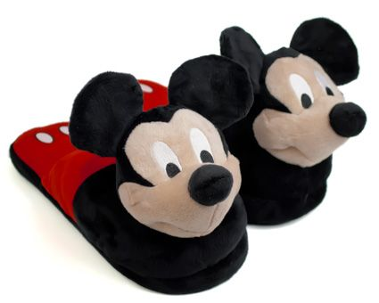 Mickey mouse slippers, Disney slippers