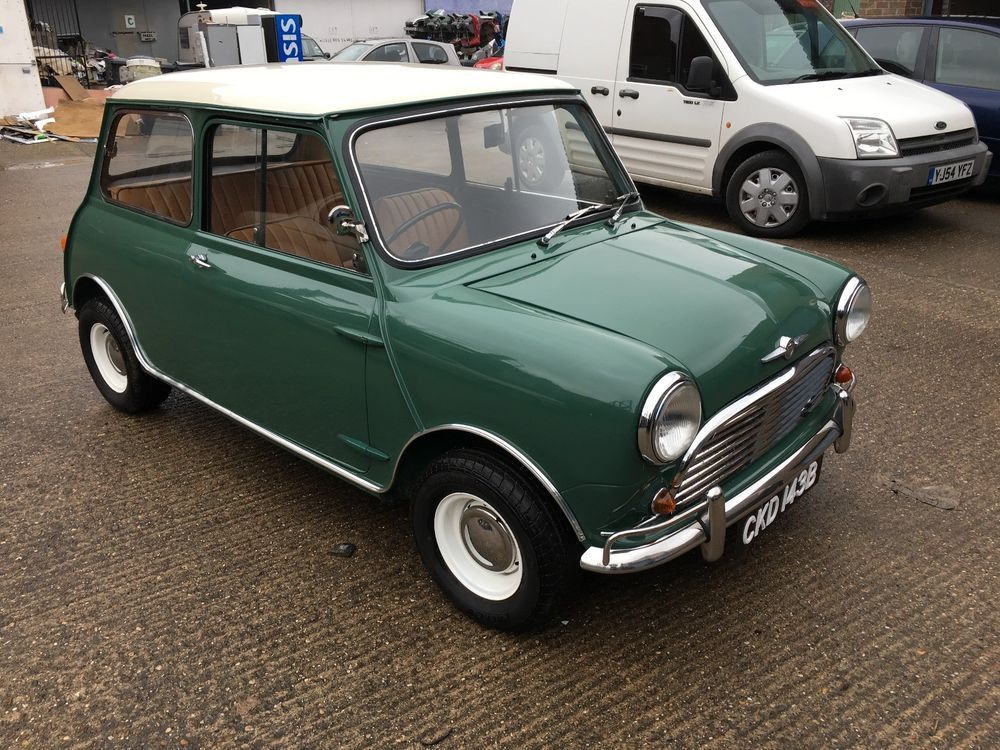 Ebay Classic Mini Morris Mk Show Mini  Original Bill Of Sale
