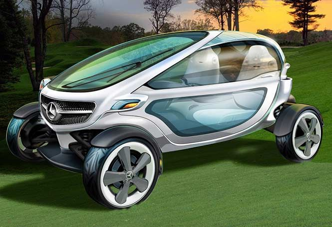 Mercedes-Benz Vision Golf Cart Concept