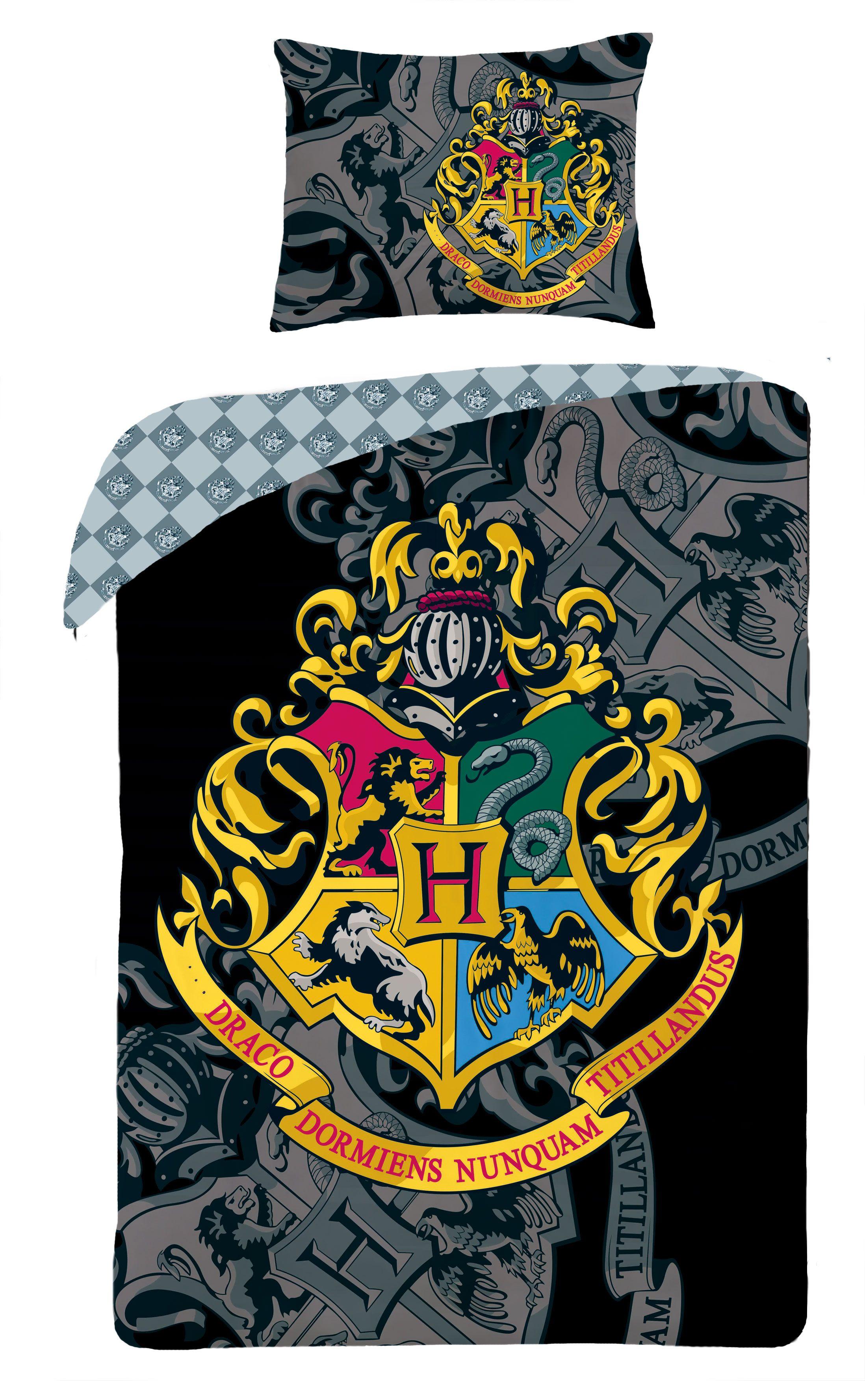 Pościel licencyjna Harry Potter HP 0068BL Materiał bawełna Rozmiar 140x200cm 70x90cm Dostępne od marca 2017