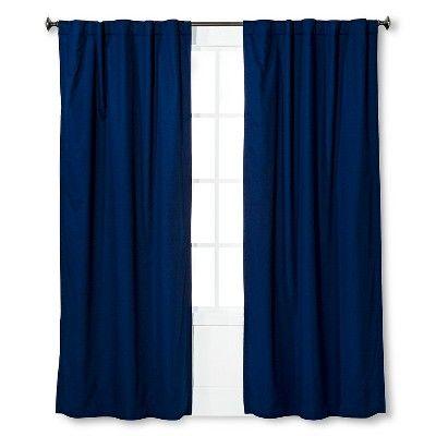 Twill Light Blocking Curtain Panel Pillowfort Target