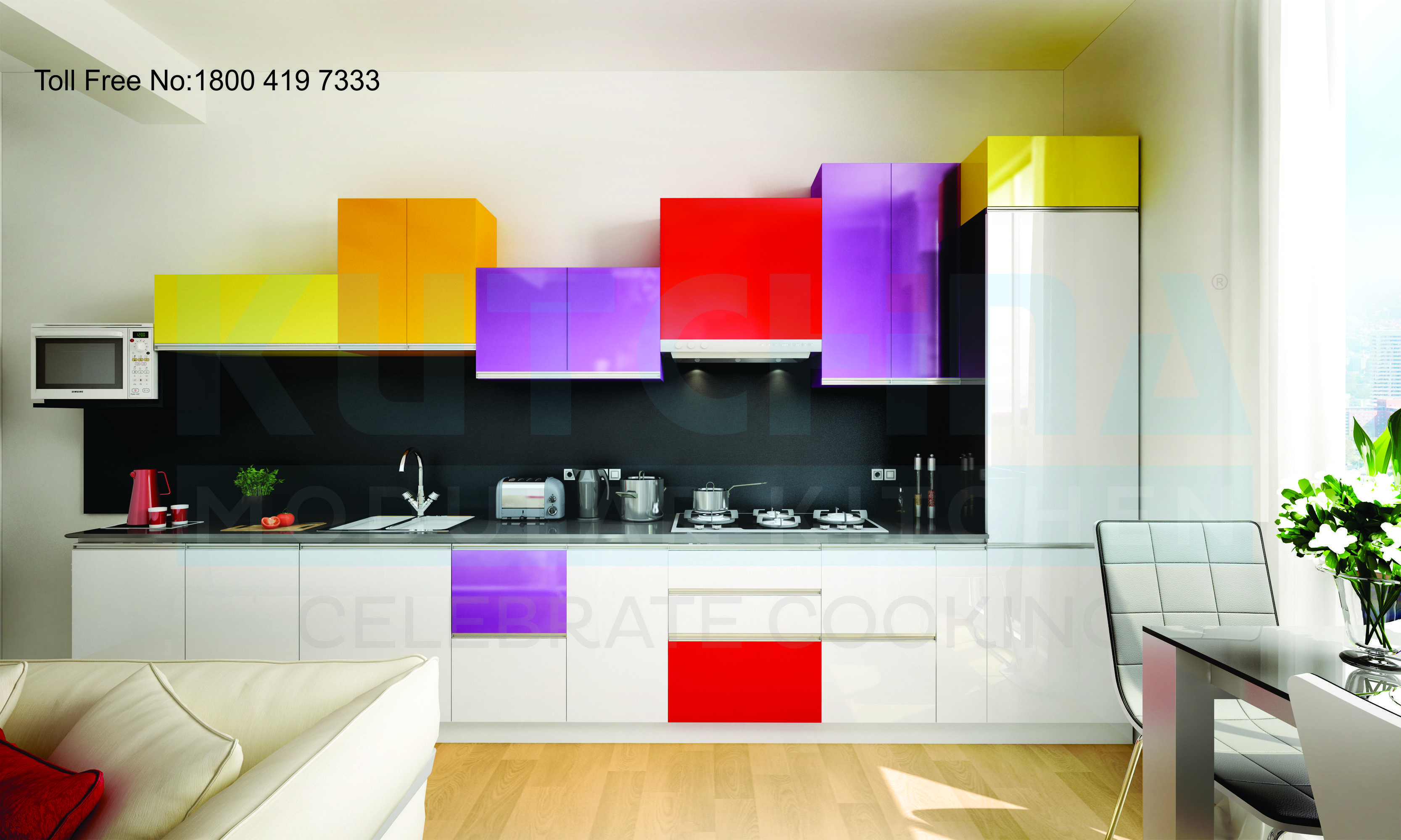 Kutchina Modular Kitchens Comes With Latest Design And Durable Material With 5 Years Warranty And Emi Toll F Kitchen Room Design Kitchen Design Kitchen Models