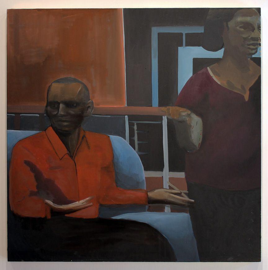 Noah davis crush on daughter inlaw 2012 oil on canvas