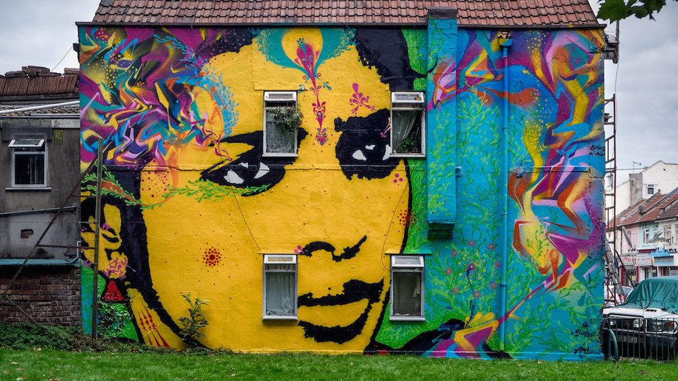 30 Jaw Dropping Pieces Of Bristol Street Art Bristol Street Street Art Art