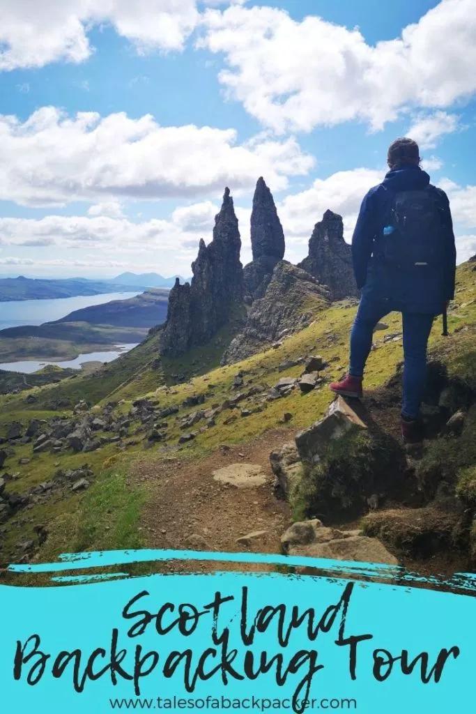 Backpacking Scotland Tours from Edinburgh: An Honest Haggis Adventures Review #travelscotland