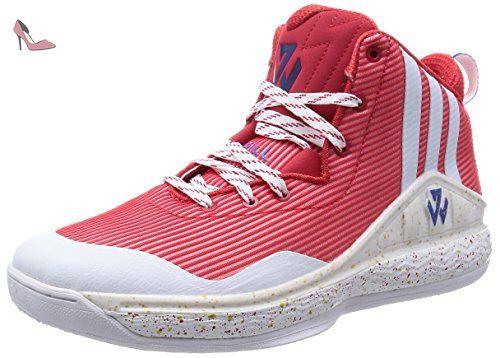 John Wall chaussures de baloncesto adidas femme Rouge 50 2 / 3 FR