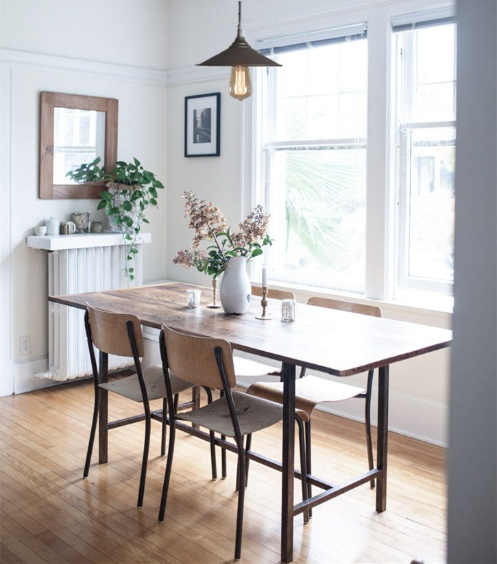 In This Dining Room The Table Is Made By A Vancouver Local Antique Dealer And Furniture Designer Scott Landon While Pendant Lamp WestmenLights