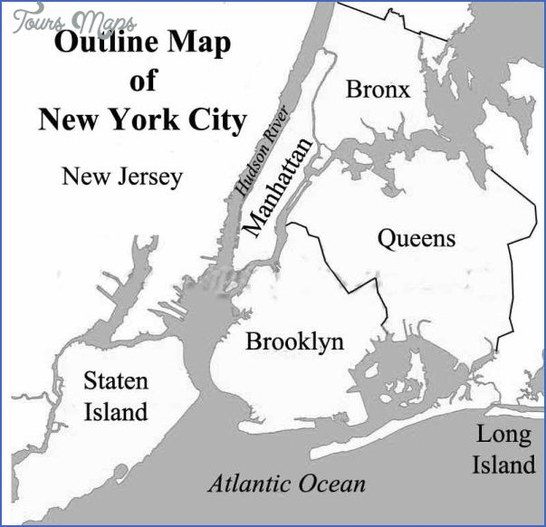 Awesome New York Map Outline New York City Map Map Of New York Old Maps