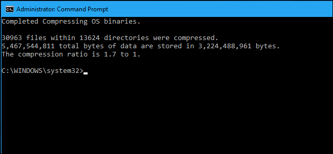 """How to Save Space on Storage-Starved PCs With Windows 10's """"CompactOS"""""""