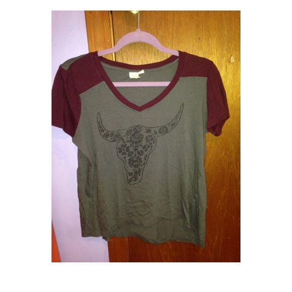 T-shirt Perfect edgy summer t-shirt. Flow t-shirt for perfect hot days! LA Hearts Tops Tees - Short Sleeve