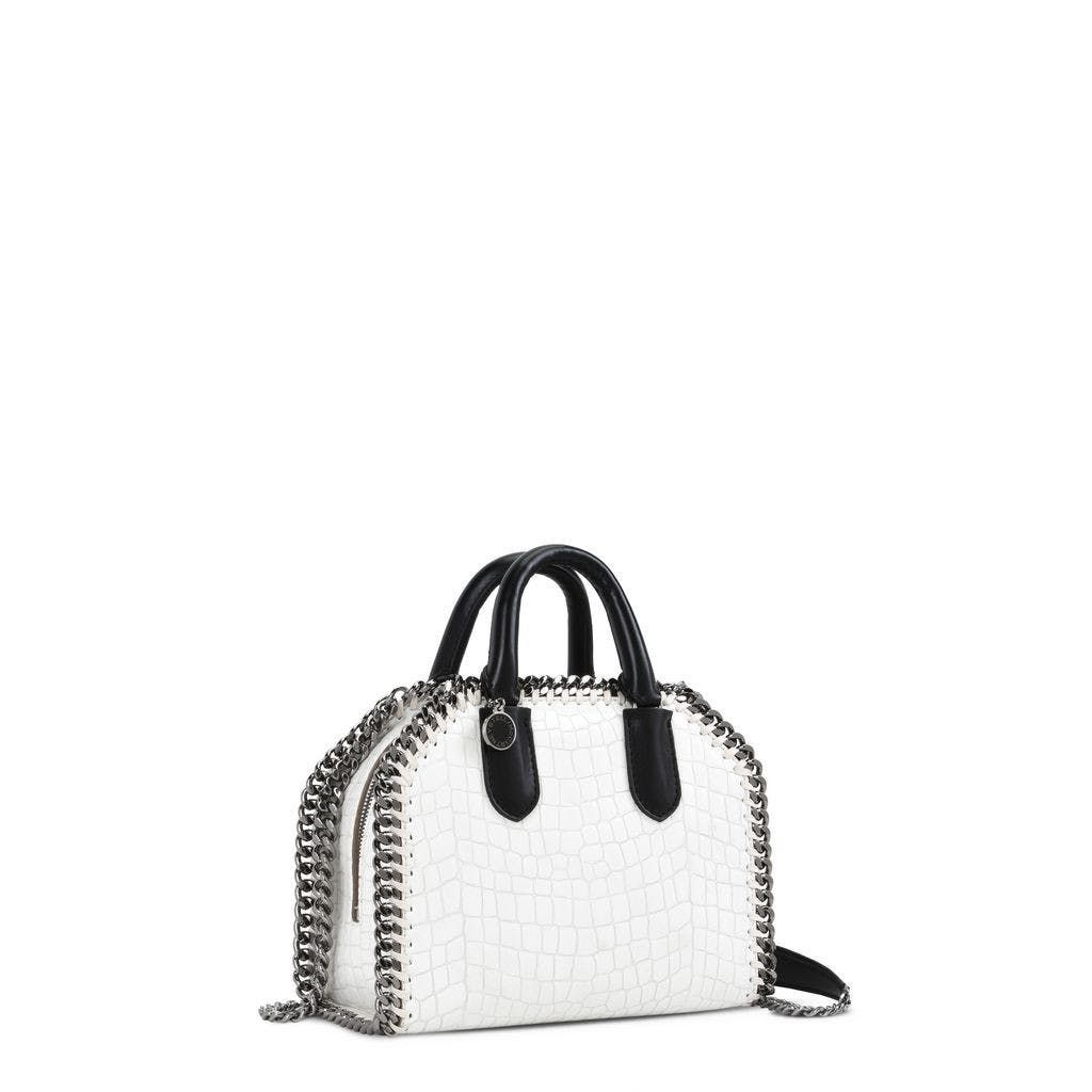 970a4ada0a97 White Falabella Box Alter Croc Mini Bag by Stella McCartney