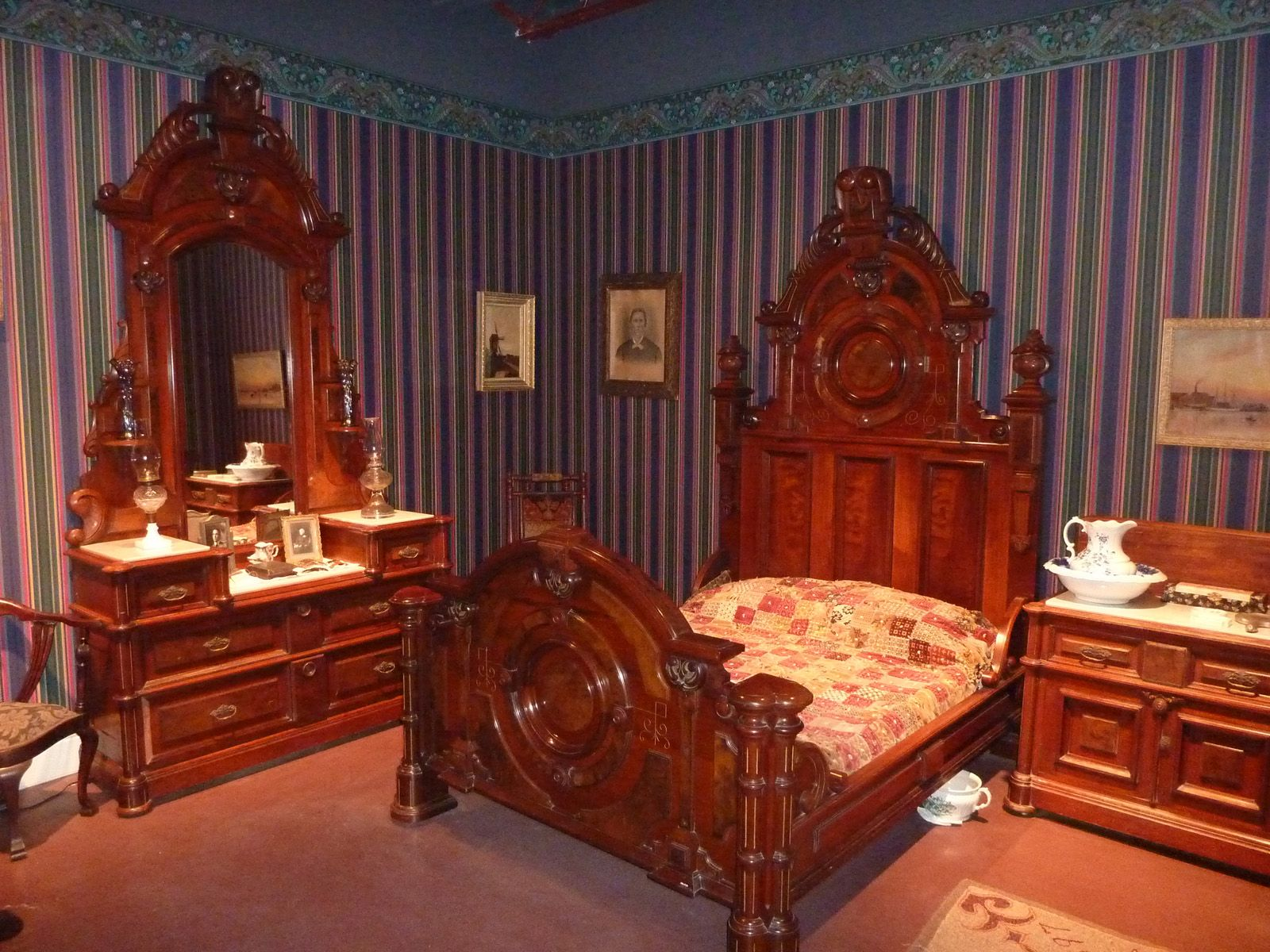 Elegant Victorian Bedroom Furniture Of The 19th Century. Description From  Historylines.net. I Searched