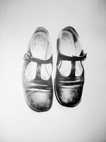 パリ在住のアーティスト 森田幸子 \u201d五年間履き古した靴のポートレート