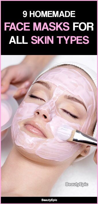 Top 9 Homemade Face Mask Recipes for All Skin Types #homemadefacelotion