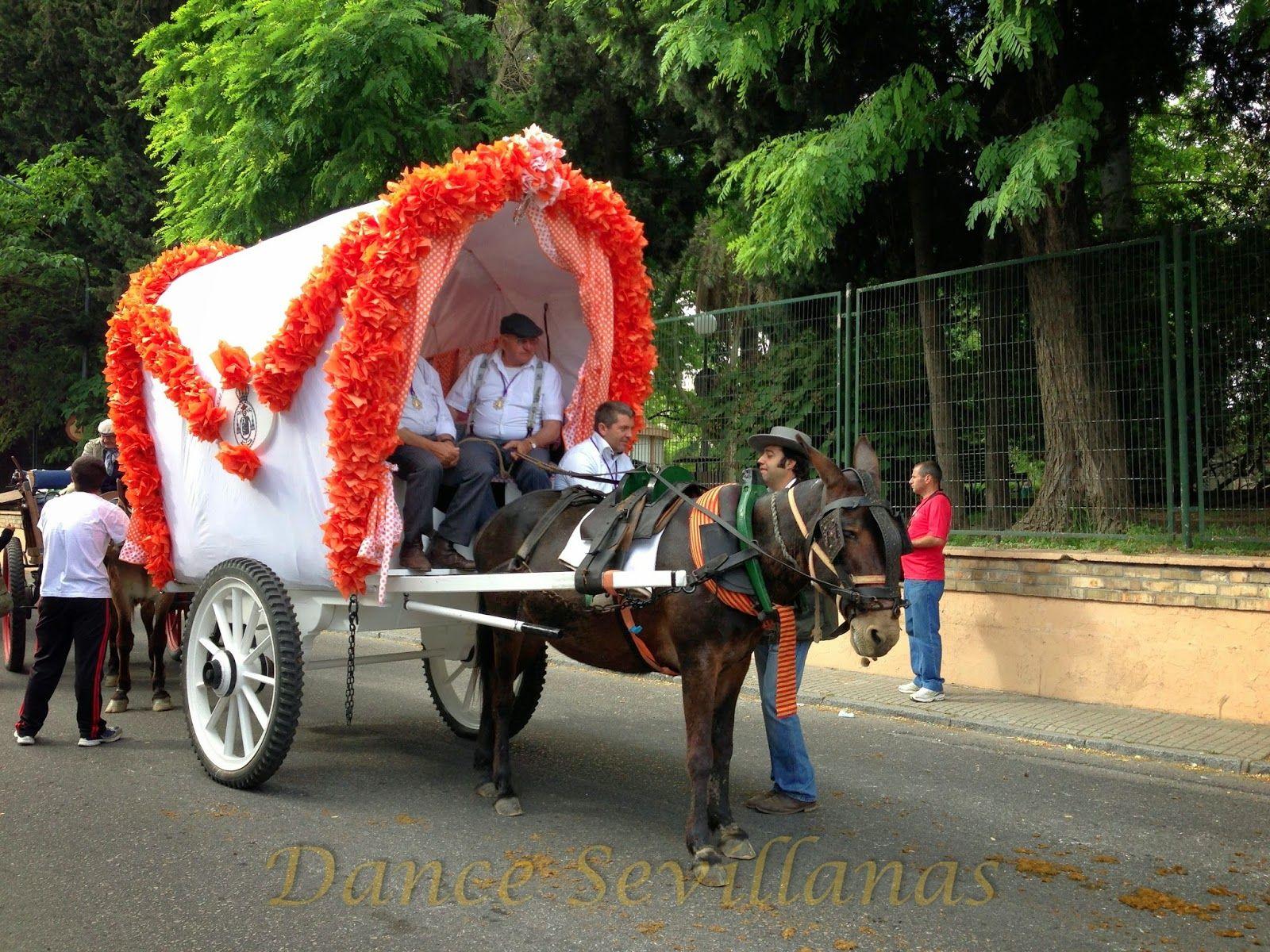 On their way to  El Rocio Camino al Rocio