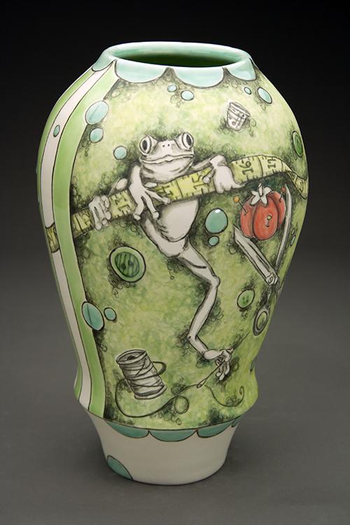 Large Frog Vase Pottery Inspiration Pinterest Frogs
