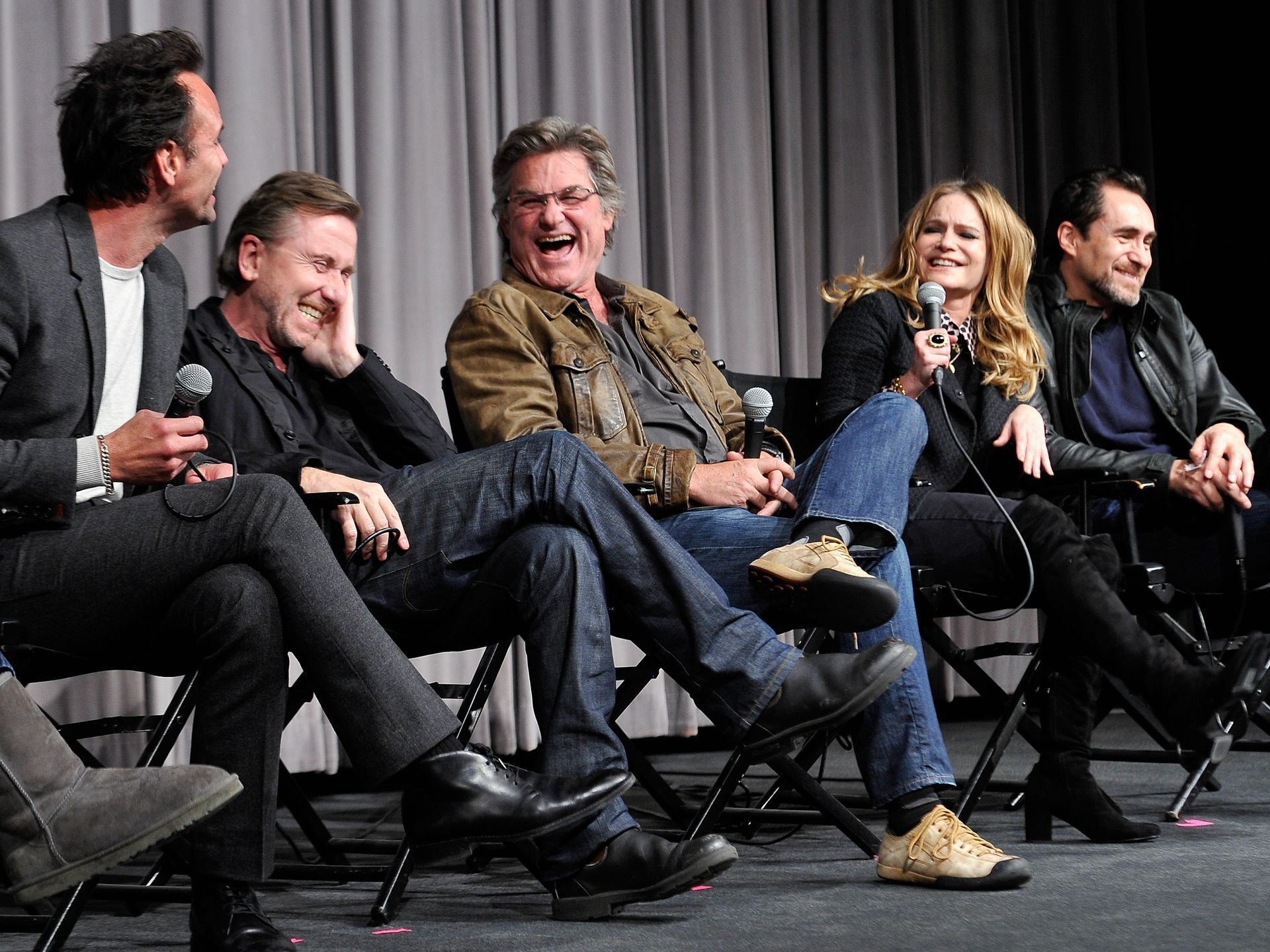Day In Celebrities Tim Roth The Hateful Eight It Cast