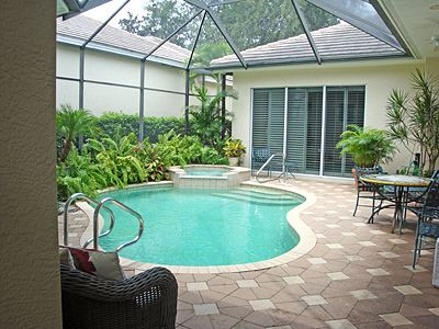 small pool enclosure idea if you need your pool cage or