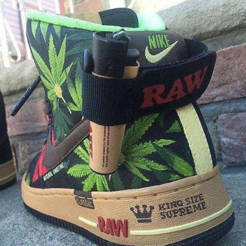 Nike Ones Community Air Raw Pinterest Force Cannabis w8AzOqd