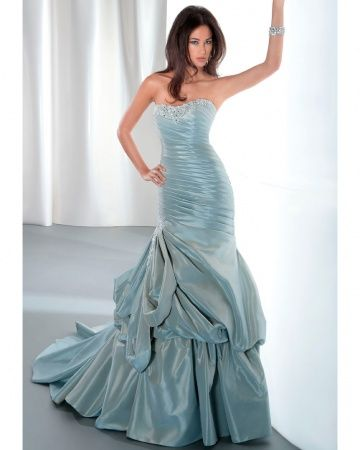 Trumpet Style Dress by Demetrios for Fall 2013 Collection