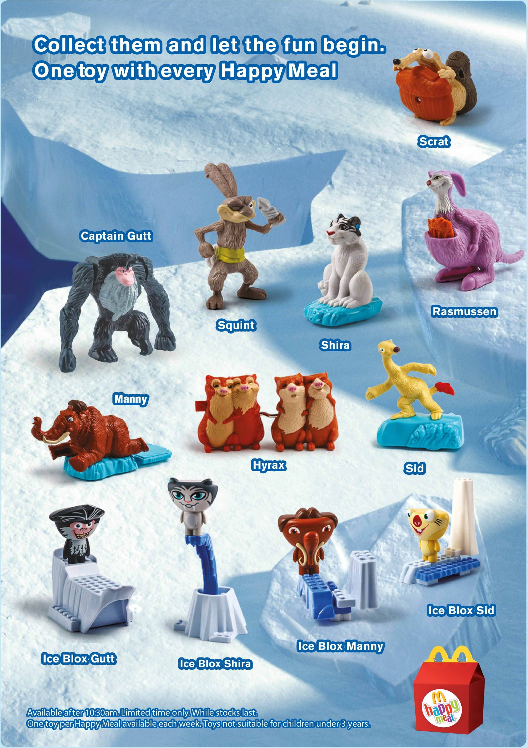 Toys From Mcdonald S Happy Meals : Current mcdonald s happy meal toys south