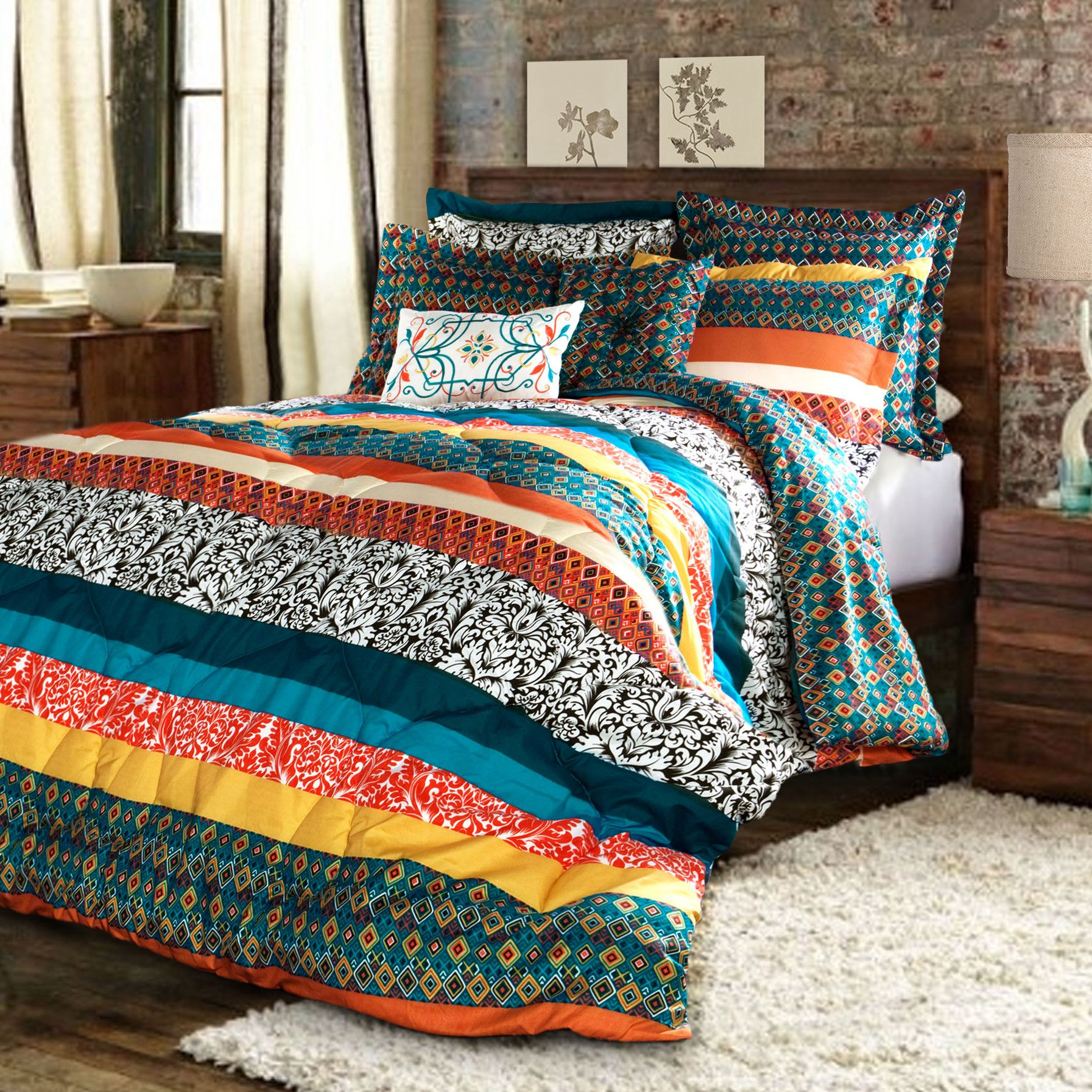 Special Edition by Lush Decor Boho Stripe Bedding Collection
